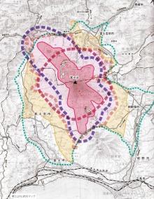 富士山火山防災地図